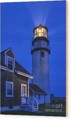 Highland Lighthouse Wood Print by John Greim