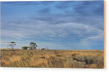 Wood Print featuring the photograph Homestead by Tim Nichols