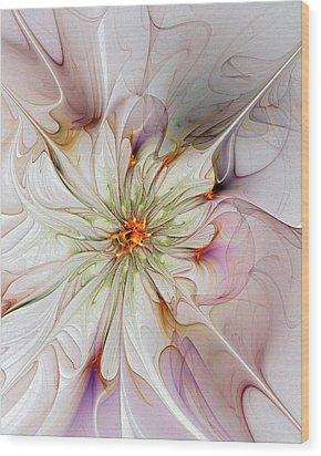 In Full Bloom Wood Print by Amanda Moore