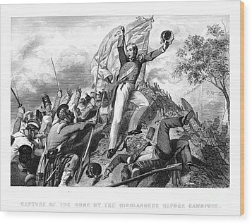 India: Sepoy Rebellion, 1857 Wood Print by Granger