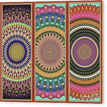Indian Summer Wood Print