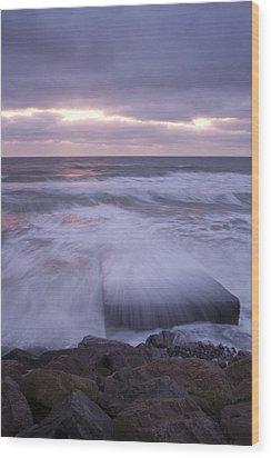 Wood Print featuring the photograph Irish Dawn by Ian Middleton