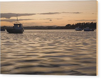 Wood Print featuring the photograph Irish Dusk by Ian Middleton