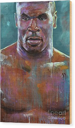 Iron Mike Wood Print by Robert Phelps
