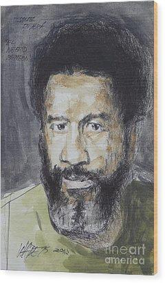 Ismael Rivera Wood Print by Wade Hampton