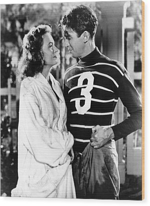 Its A Wonderful Life, Donna Reed, James Wood Print by Everett