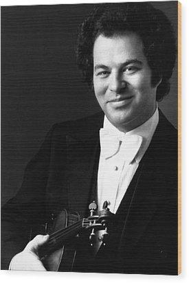 Itzhak Perlman, Ca. 1980s Wood Print by Everett