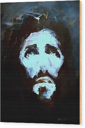 Jesus - 4 Wood Print by Jun Jamosmos