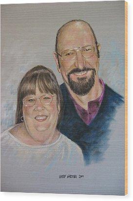 Joe And Patsy Wood Print