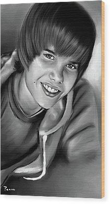 Justin Wood Print by Lisa Pence
