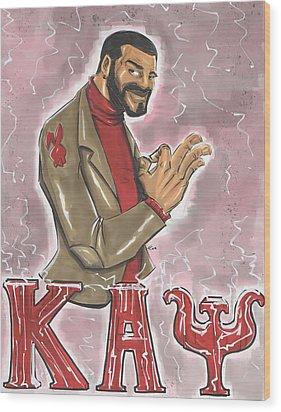 Kappa Alpha Psi Fraternity Inc Wood Print by Tu-Kwon Thomas