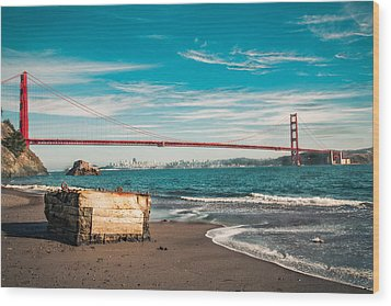 Wood Print featuring the photograph Kirby Cove Treasure by Kim Wilson