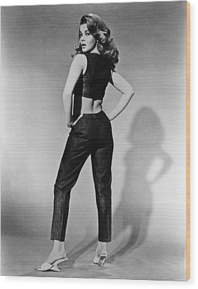 Kitten With A Whip, Ann-margret, 1964 Wood Print by Everett