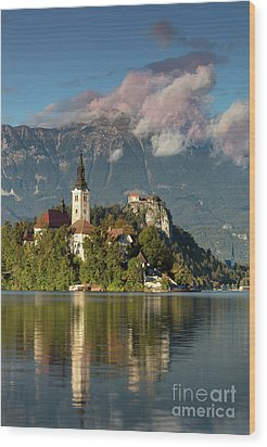 Wood Print featuring the photograph Lake Bled by Brian Jannsen