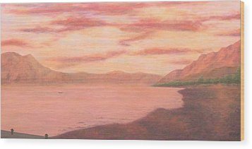 Lake Chapala Wood Print