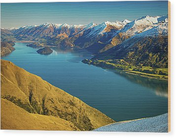 Lake Wanaka Wood Print