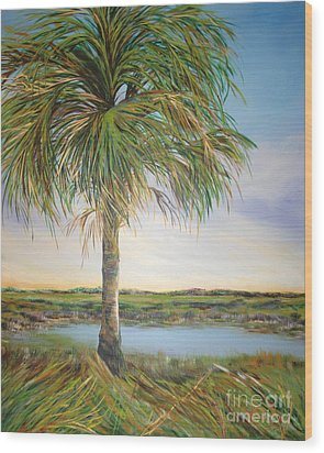 Large Palm Wood Print by Michele Hollister - for Nancy Asbell