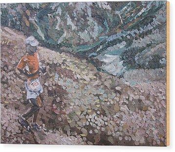 Leadville 100 Ultra Wood Print by Kendal Greer