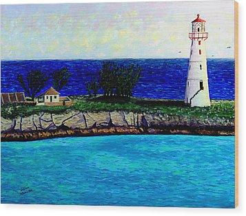 Lighthouse IIi Wood Print by Stan Hamilton