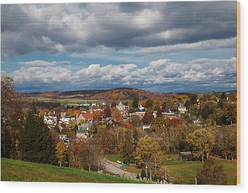 Wood Print featuring the photograph Ligonier Valley by April Reppucci