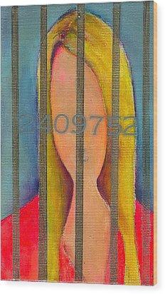 Lindsays Lows Wood Print by Ricky Sencion