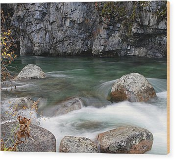 Little Susitna River Wood Print