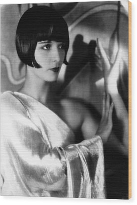 Louise Brooks, Ca. 1929 Wood Print by Everett