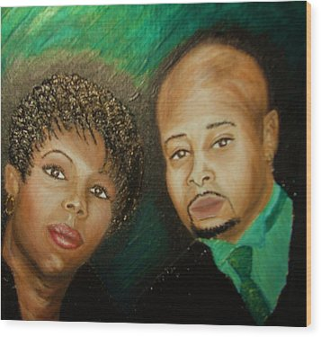 Lovers And Friends Wood Print by Keenya  Woods