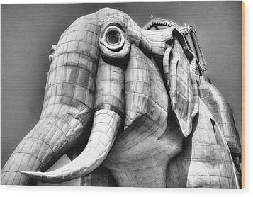 Lucy The Elephant Wood Print
