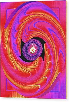 Luminous Energy 8 Wood Print by Will Borden