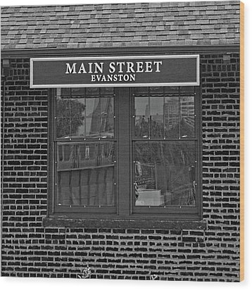 Main Street Station Wood Print by Michael Flood