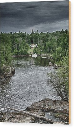 Manigotagan River Wood Print