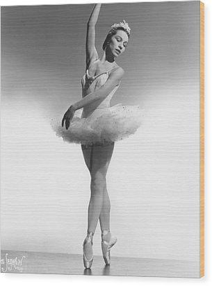 Maria Tallchief, Ballerina Wood Print by Everett