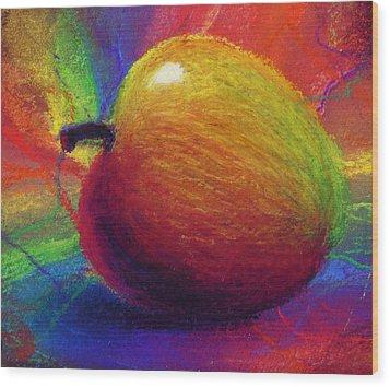 Metaphysical Apple Wood Print