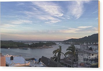Wood Print featuring the photograph Mexico Memories by Victor K