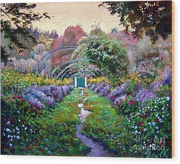 Monet Wood Print by David Lloyd Glover