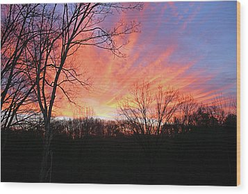 Wood Print featuring the photograph Morning Has Broken by Kristin Elmquist
