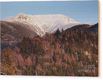 Mount Lafayette - White Mountains New Hampshire Usa Wood Print by Erin Paul Donovan