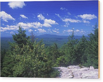 Mount Monadnock From Pack Monadnock Wood Print