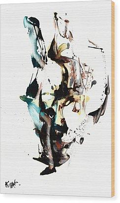 My Form Of Jazz Series 10064.102909 Wood Print