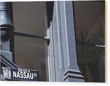 Nassau Street Wood Print by Rob Hans