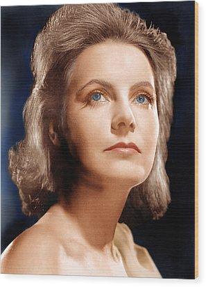 Ninotchka, Greta Garbo, Portrait Wood Print by Everett