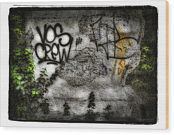 No.4 Wood Print by Jerry Golab