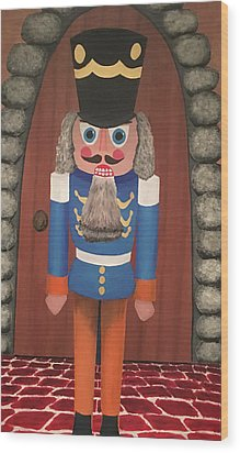 Wood Print featuring the painting Nutcracker Sweet by Thomas Blood