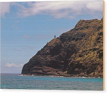 Oahu - Cliffs Of Hope Wood Print by Anthony Baatz