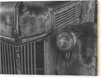 Old Ford Pickup Wood Print by Garry Gay