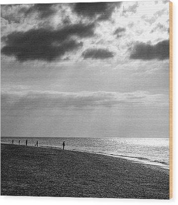Old Hunstanton Beach, Norfolk Wood Print