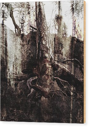 Old One Wood Print by Ken Walker