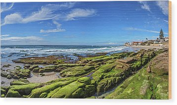 Wood Print featuring the photograph On The Rocky Coast by Peter Tellone