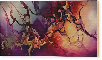 Passion Wood Print by Michael Lang